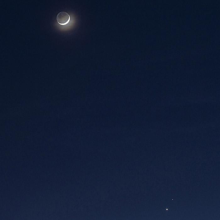 Moon + Venus + Mars
